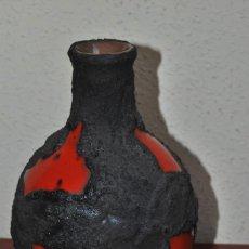 Antigüedades: JARRÓN DE CERÁMICA ALEMANA - FAT LAVA - FLORERO - AÑOS 60 - ALEMANIA. Lote 61893832