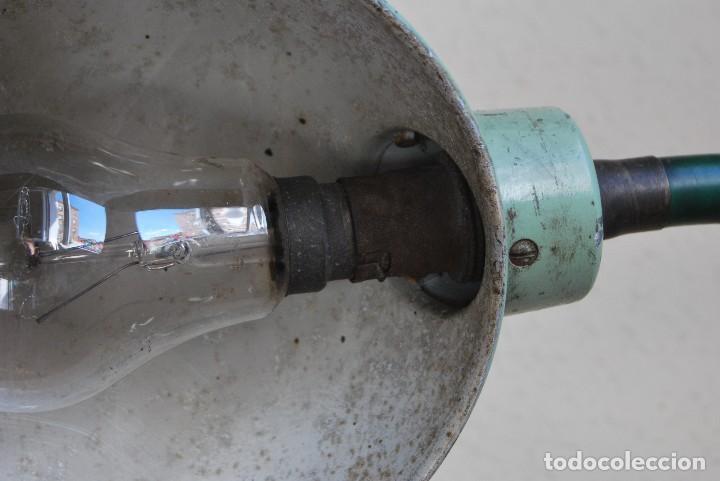 Antigüedades: LÁMPARA DE SOBREMESA - LAMPES ADHER - FRANCIA - DISEÑO INDUSTRIAL - AÑOS 40-50 - FLEXO - FOCO - Foto 11 - 61894356