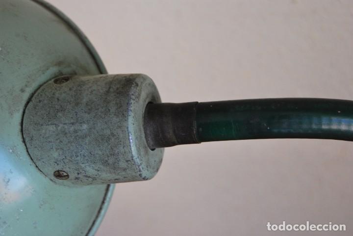 Antigüedades: LÁMPARA DE SOBREMESA - LAMPES ADHER - FRANCIA - DISEÑO INDUSTRIAL - AÑOS 40-50 - FLEXO - FOCO - Foto 13 - 61894356