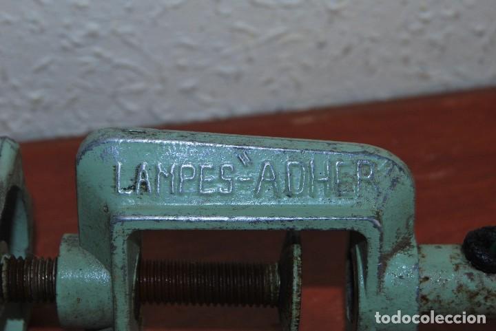 Antigüedades: LÁMPARA DE SOBREMESA - LAMPES ADHER - FRANCIA - DISEÑO INDUSTRIAL - AÑOS 40-50 - FLEXO - FOCO - Foto 16 - 61894356