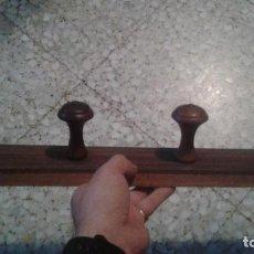 Antigüedades: ANTIGUO Y BONITO PERCHERO DE MADERA. Lote 61940124