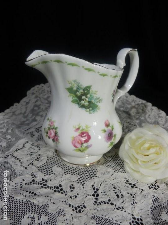 Lechera royal albert coleccion flores de los me comprar - Porcelana inglesa antigua ...