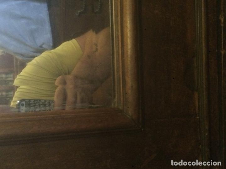Antigüedades: Antiguo armario Alfonsino con espejo de madera de roble años 10-20 - Foto 13 - 62023272