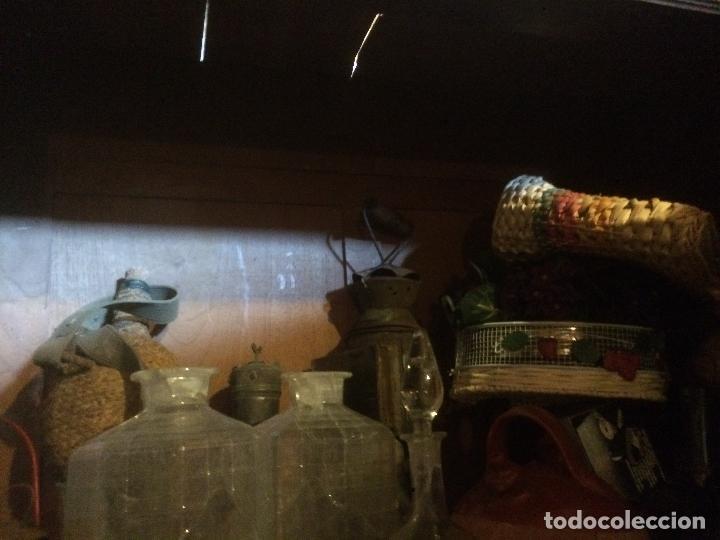 Antigüedades: Antiguo armario Alfonsino con espejo de madera de roble años 10-20 - Foto 22 - 62023272