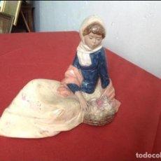 Antigüedades: FIGURA CERÁMICA NADAL. Lote 61923200