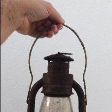 Antigüedades: ANTIGUO FAROL CANDIL DE ACEITE O ANTIGUA LAMPARA. Lote 62031416