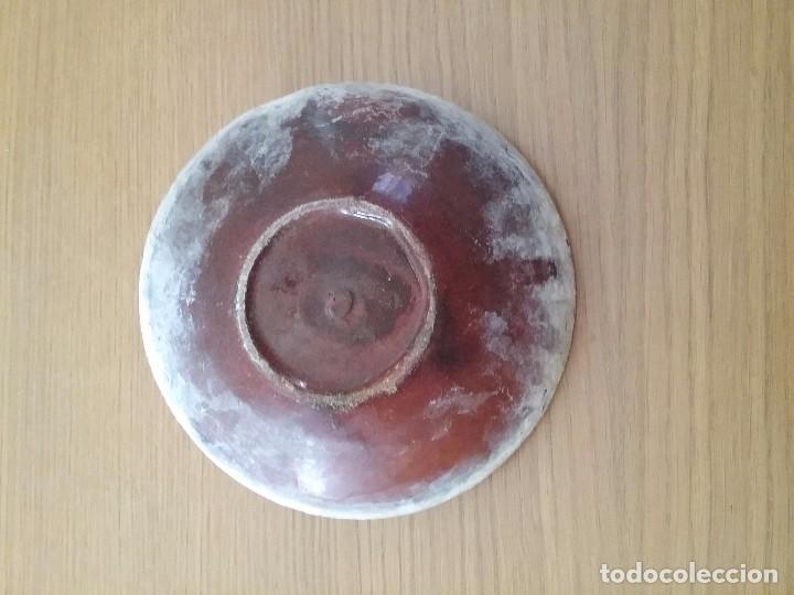 Antigüedades: Escudilla, cuenco de volta catalana la Bisbal s xviii xix - Foto 2 - 62037004