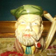 Antigüedades: JARRA CARA DE PERSONAJE. Lote 62051884