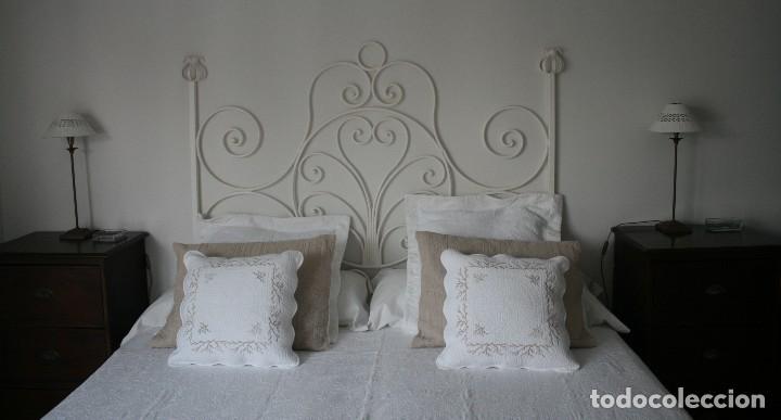 Precioso antiguo cabecero de cama matrimonio comprar - Cabeceros de cama antiguos ...