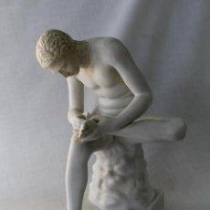 Antiquitäten - FIGURA EN PORCELANA DEL ARTE HELENICO GRIEGO - 62134532