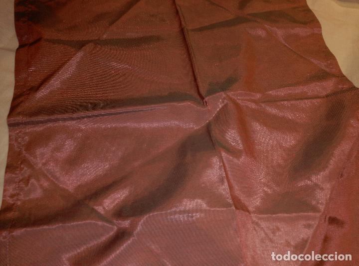Antigüedades: servilletas de raso asedadas - Foto 2 - 62155036