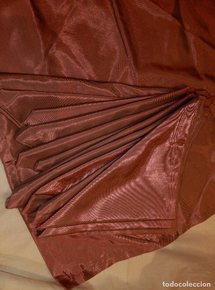 Antigüedades: servilletas de raso asedadas - Foto 3 - 62155036