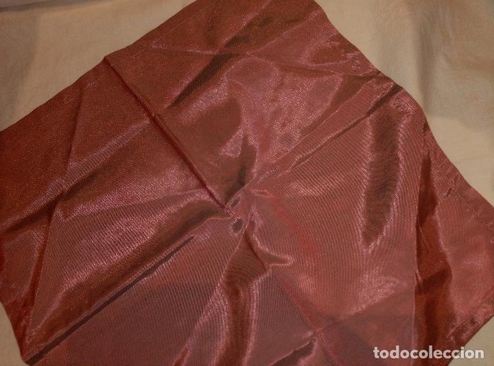 Antigüedades: servilletas de raso asedadas - Foto 4 - 62155036