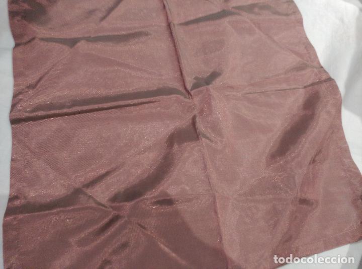 Antigüedades: servilletas de raso asedadas - Foto 5 - 62155036