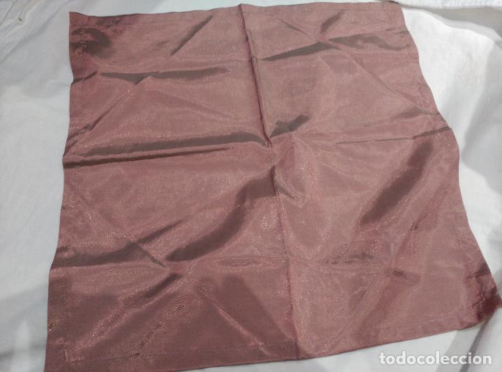 Antigüedades: servilletas de raso asedadas - Foto 6 - 62155036