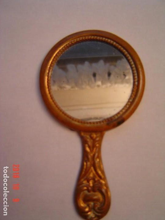 Antigüedades: PEQUEÑO ESPEJO ANTIGUO DE LOS AÑOS 20 DE LA HABANA - Foto 3 - 62182248