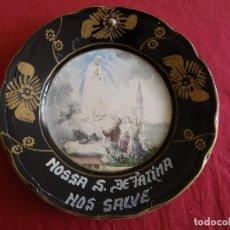 Antigüedades: ANTIGUO PLATO DE FATIMA , , VERR. Lote 62195488