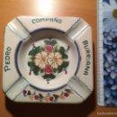 Antigüedades: CENICERO PEDRO COMPAÑS BURRIANA - FIRMA FIGAS RIBESALBES. Lote 62224547