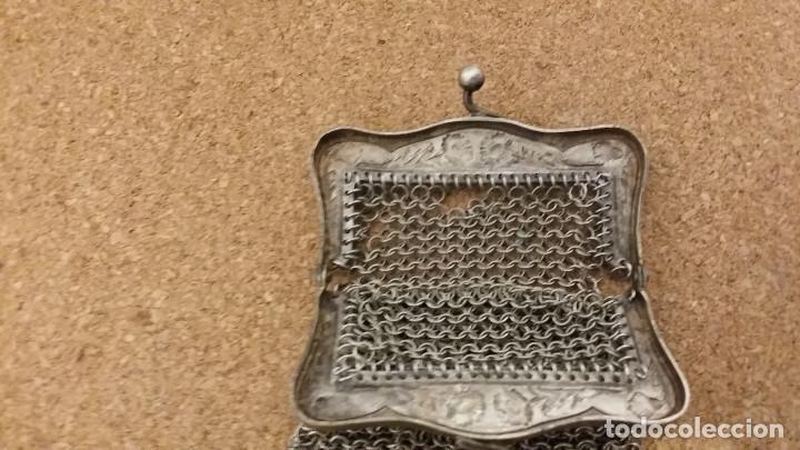 Antigüedades: bolso de plara - Foto 2 - 62227888