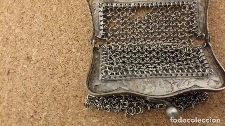 Antigüedades: bolso de plara - Foto 3 - 62227888