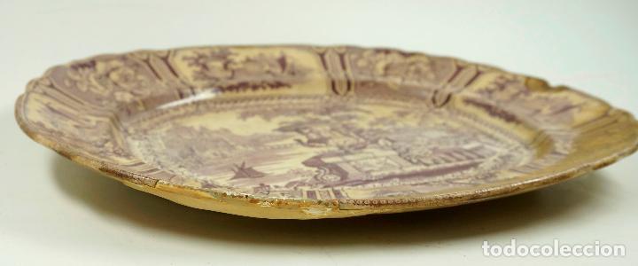 Antigüedades: FUENTE DE SARGADELOS S.XIX 29 X 34 CM. - Foto 4 - 62372956