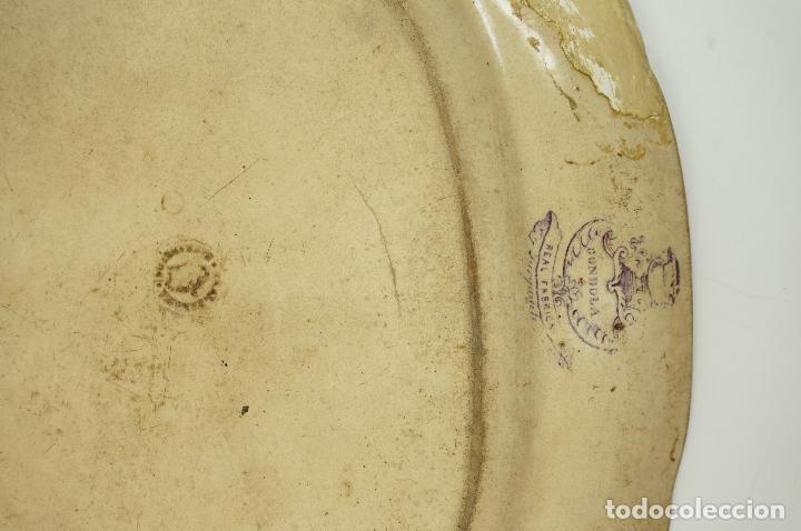 Antigüedades: FUENTE DE SARGADELOS S.XIX 29 X 34 CM. - Foto 6 - 62372956