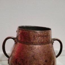 Antigüedades: ANTIGUO PEROLETE EN COBRE. Lote 62396016