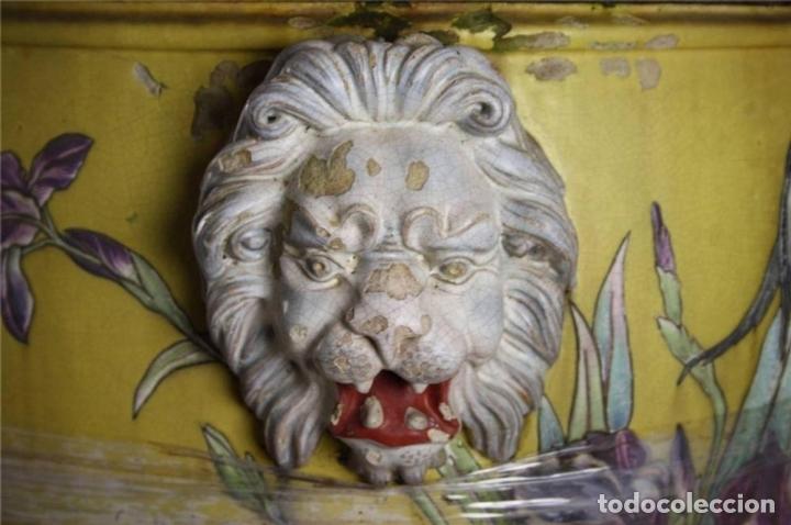 Antigüedades: PECERA O JARDINERA ORIENTAL. CERAMICA ESMALTADA. CHINA. SIGLO XIX - Foto 9 - 62415776