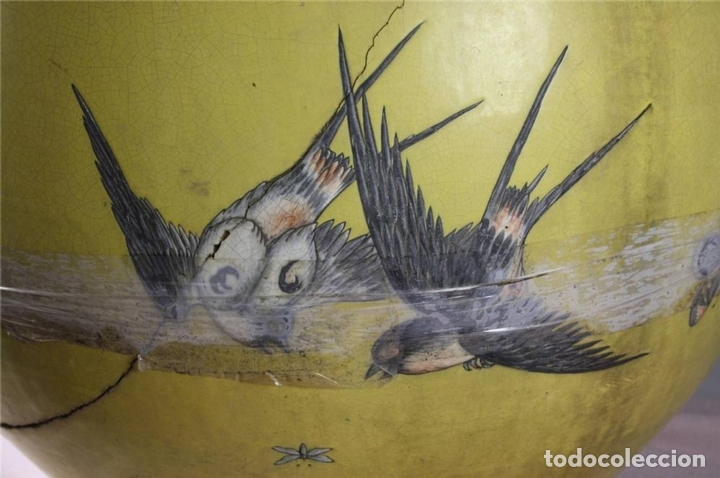 Antigüedades: PECERA O JARDINERA ORIENTAL. CERAMICA ESMALTADA. CHINA. SIGLO XIX - Foto 11 - 62415776