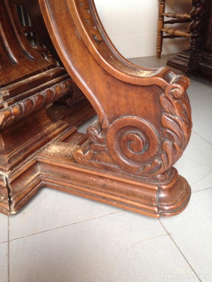 Antigüedades: Mesa comedor sXIX ovalada - Foto 3 - 62436452