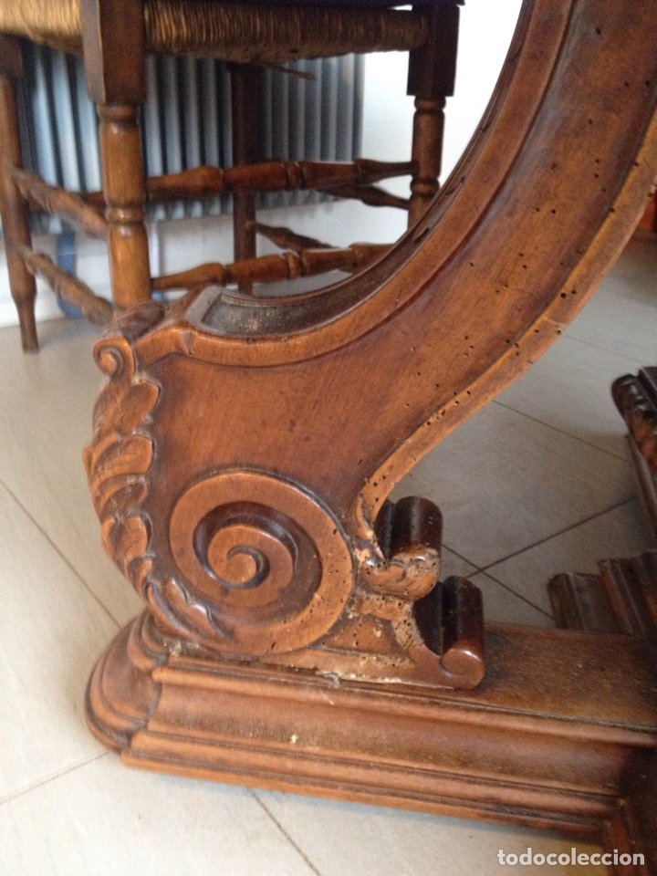 Antigüedades: Mesa comedor sXIX ovalada - Foto 4 - 62436452