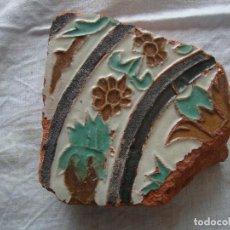 Antigüedades: AZULEJO MUDEJAR SIGLO XV. Lote 62456324