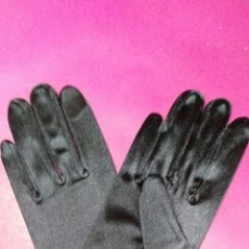 Antigüedades: GUANTES NEGROS. Lote 62466747
