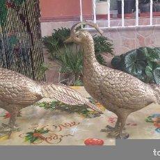 Antiquitäten - preciosas figuras de faisanes - 62476884