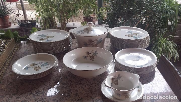 ANTIGUA VAJILLA PONTESA (Antigüedades - Porcelanas y Cerámicas - Otras)