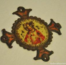 Antigüedades: ORNAMENTO TIPO CRUZ, RELIGIOSO. Lote 62483972