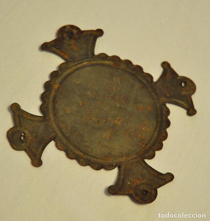 Antigüedades: ORNAMENTO TIPO CRUZ, RELIGIOSO - Foto 2 - 62483972