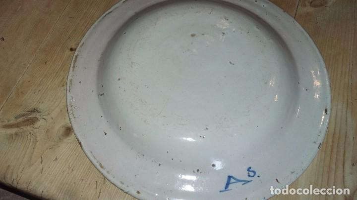 Antigüedades: Plato antiguo ceramica - Foto 2 - 62507688