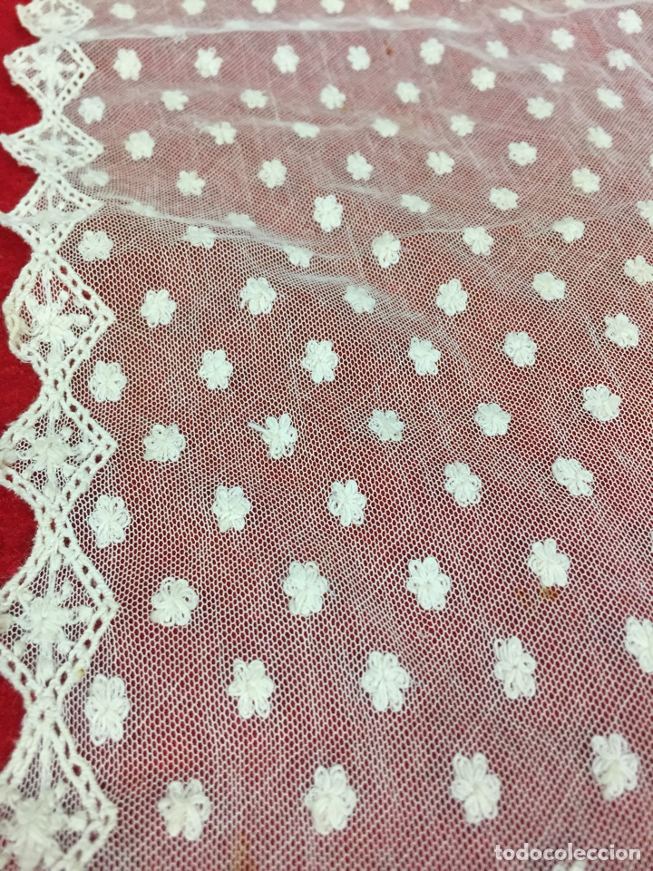Antigüedades: Antigua mantilla de toalla - Foto 9 - 58215522