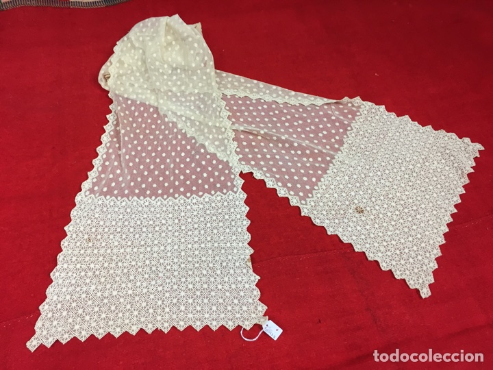 Antigüedades: Antigua mantilla de toalla - Foto 11 - 58215522