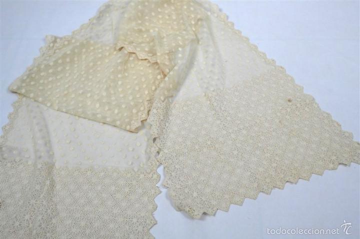 Antigüedades: Antigua mantilla de toalla - Foto 2 - 58215522