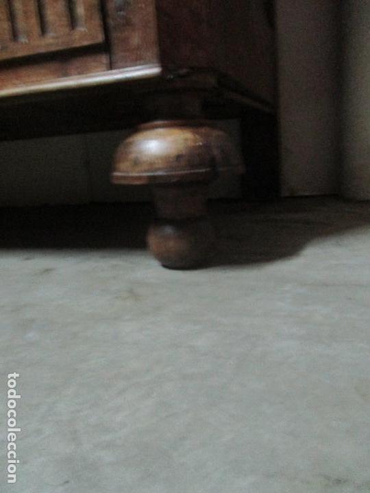 Antigüedades: Precioso Armario Provenzal - Francia - Luis XV - Madera de Nogal - Achanfranado - S. XVIII - Foto 3 - 62534216