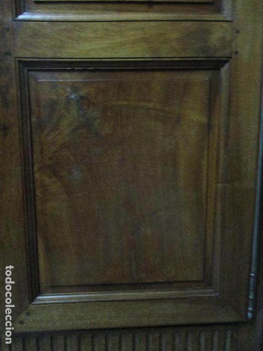 Antigüedades: Precioso Armario Provenzal - Francia - Luis XV - Madera de Nogal - Achanfranado - S. XVIII - Foto 6 - 62534216