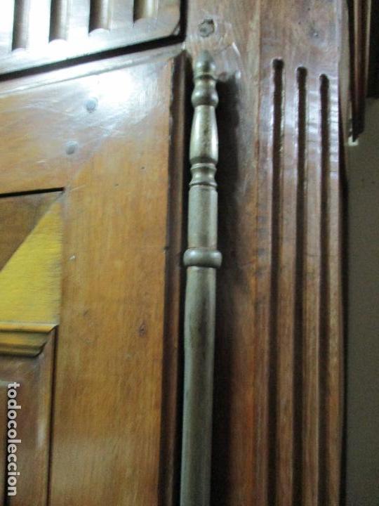 Antigüedades: Precioso Armario Provenzal - Francia - Luis XV - Madera de Nogal - Achanfranado - S. XVIII - Foto 13 - 62534216
