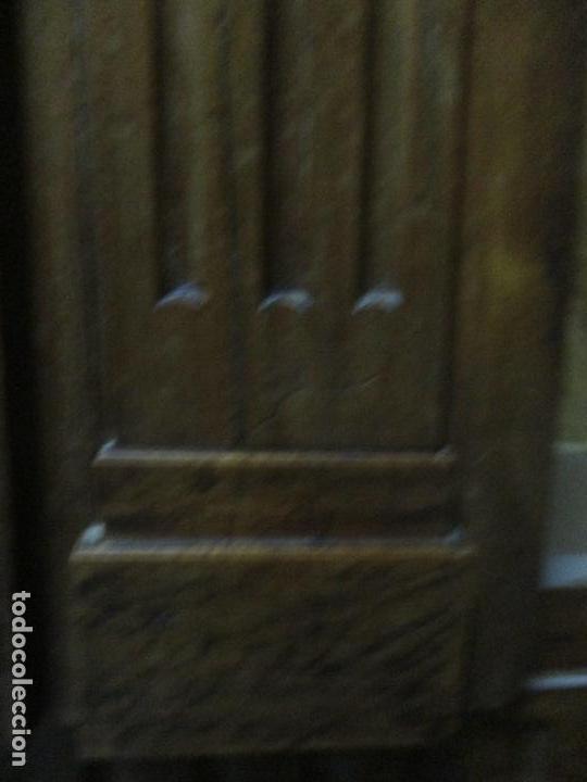 Antigüedades: Precioso Armario Provenzal - Francia - Luis XV - Madera de Nogal - Achanfranado - S. XVIII - Foto 27 - 62534216