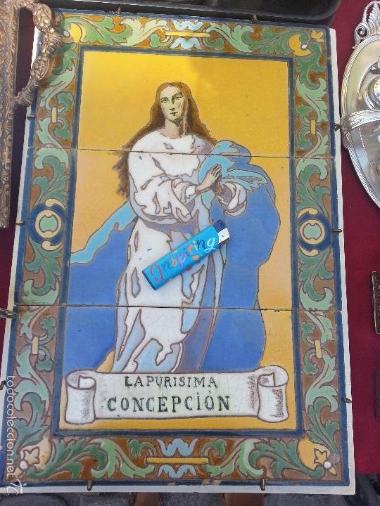 Azulejos antiguos mensaque azulejo retablo virg comprar azulejos antiguos en todocoleccion - Azulejos de segunda mano ...