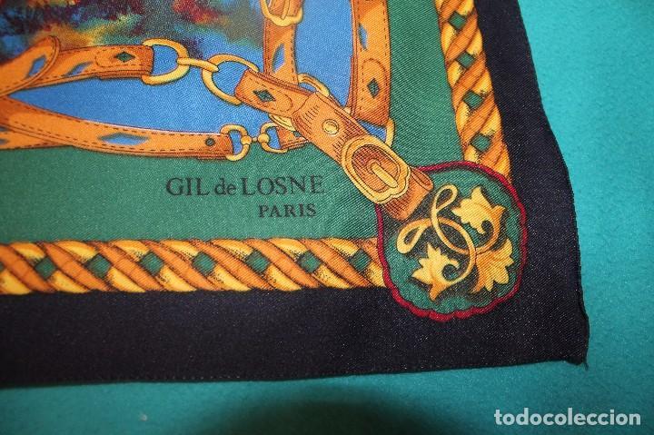 Antigüedades: PAÑUELO GIL DE LOSNE PARIS - Foto 2 - 62564872