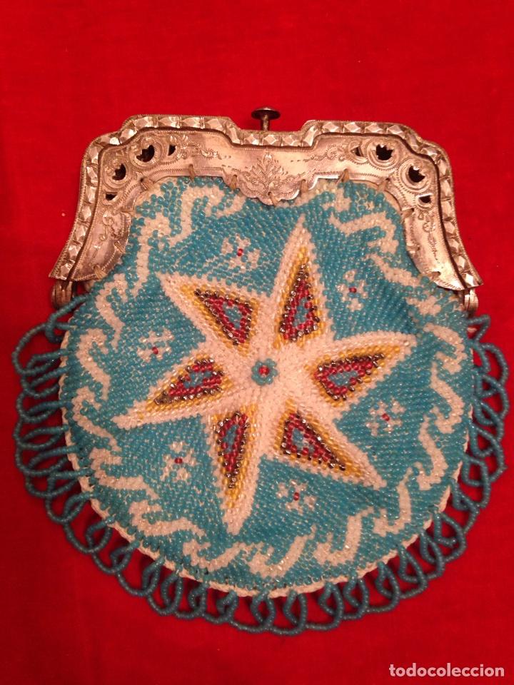 Antigüedades: Monedero de plata y bolas de cristal - Foto 2 - 62626924