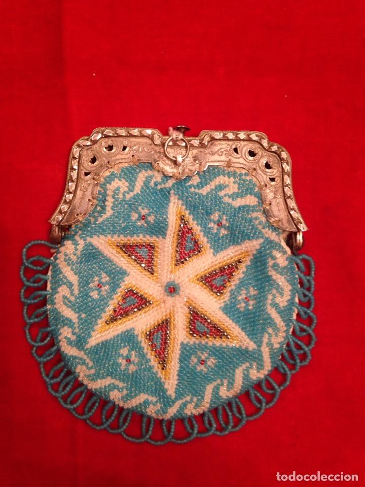 Antigüedades: Monedero de plata y bolas de cristal - Foto 3 - 62626924