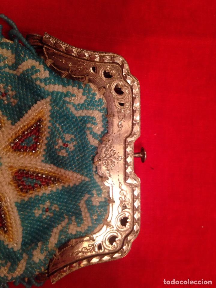 Antigüedades: Monedero de plata y bolas de cristal - Foto 4 - 62626924